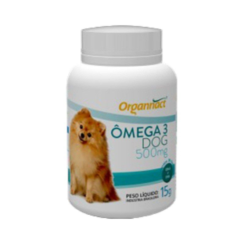 Omega 3 Dog 500mg - Organnact