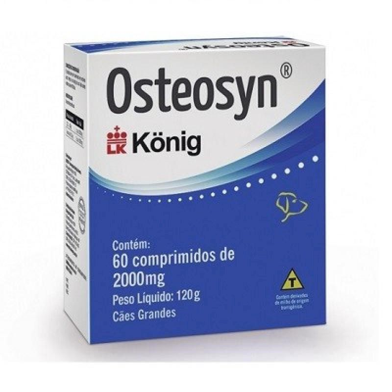 Osteosyn 2000mg (60 comprimidos) - Konig