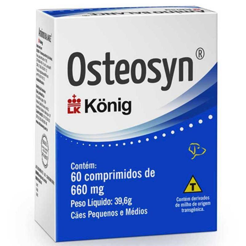Osteosyn 660mg (60 comprimidos) - Konig
