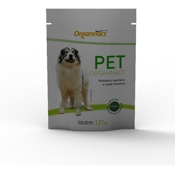 Pet Organnact Probiótico 125g - Organnact