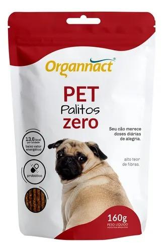Pet Palitos Zero 160g - Organnact