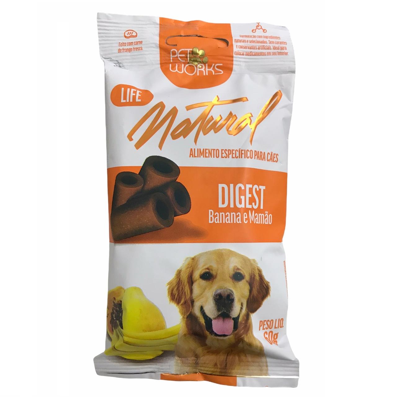 Petisco para Cães Life Natural Digest 60g - Pet Works