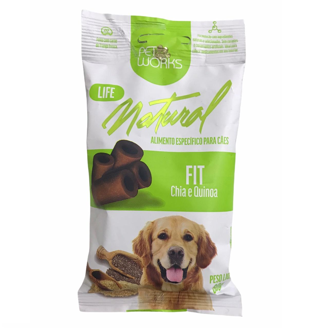 Petisco para Cães Life Natural Fit 60g - Pet Works