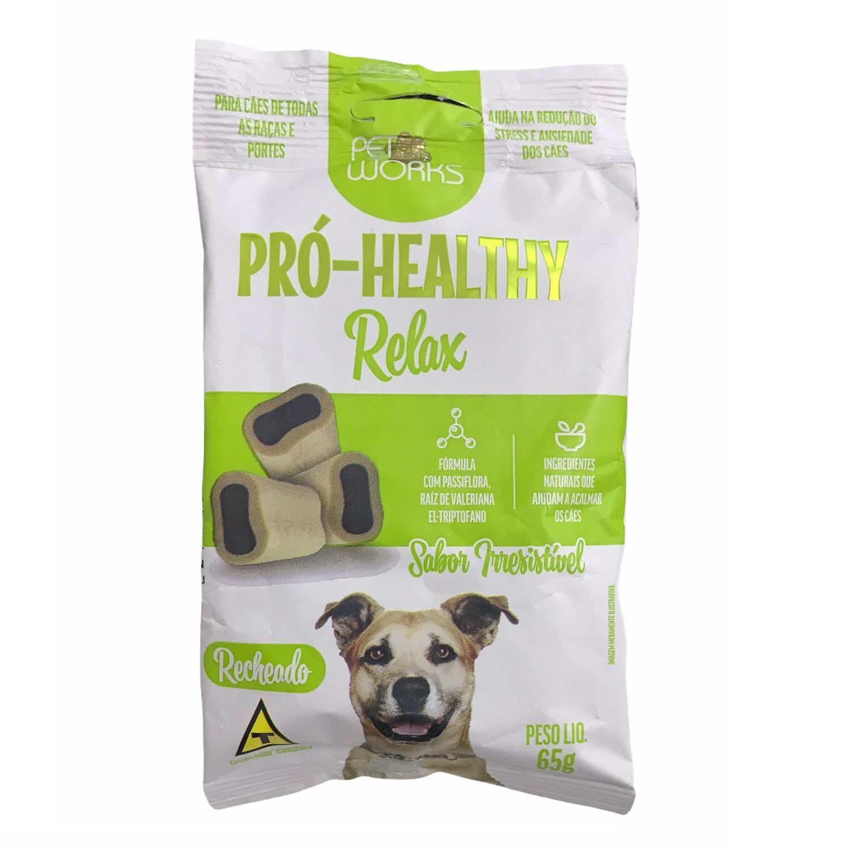 Petisco para Cães Pró-Healthy Relax 65g - Pet Works