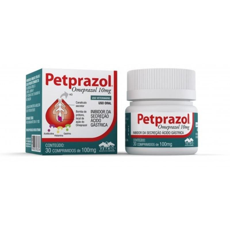 Petprazol 10mg (30 Comprimidos) - Vetnil