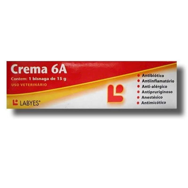 Pomada Dermatológica Crema 6A (15g) - Labyes