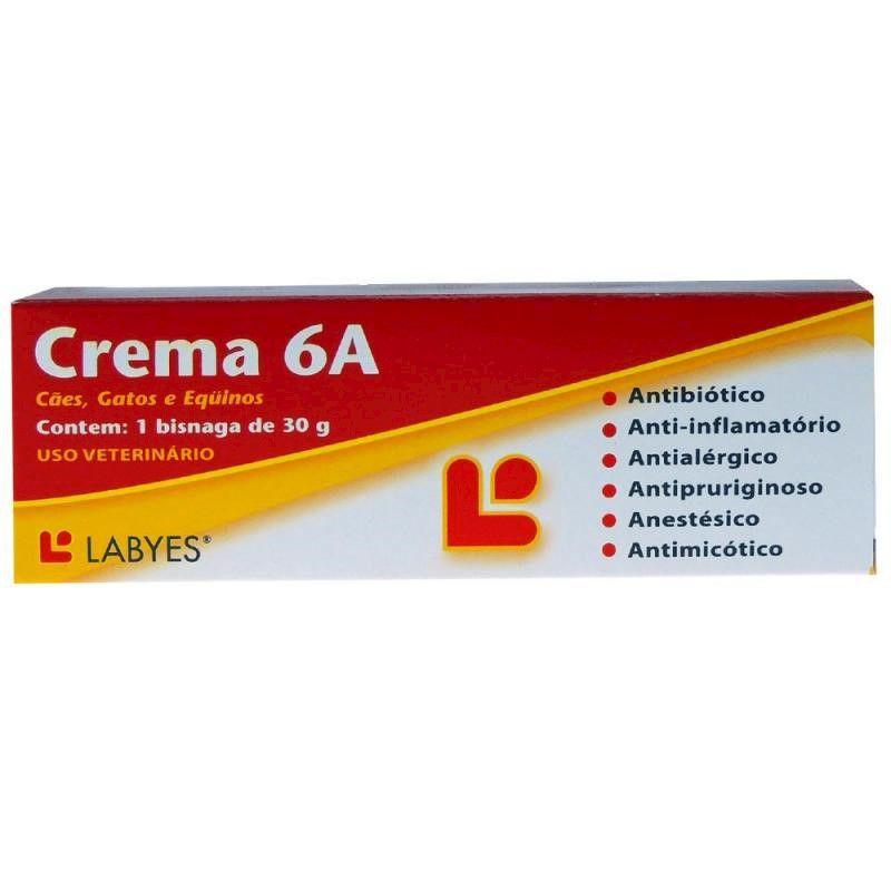 Pomada Dermatológica Crema 6A (30g) - Labyes