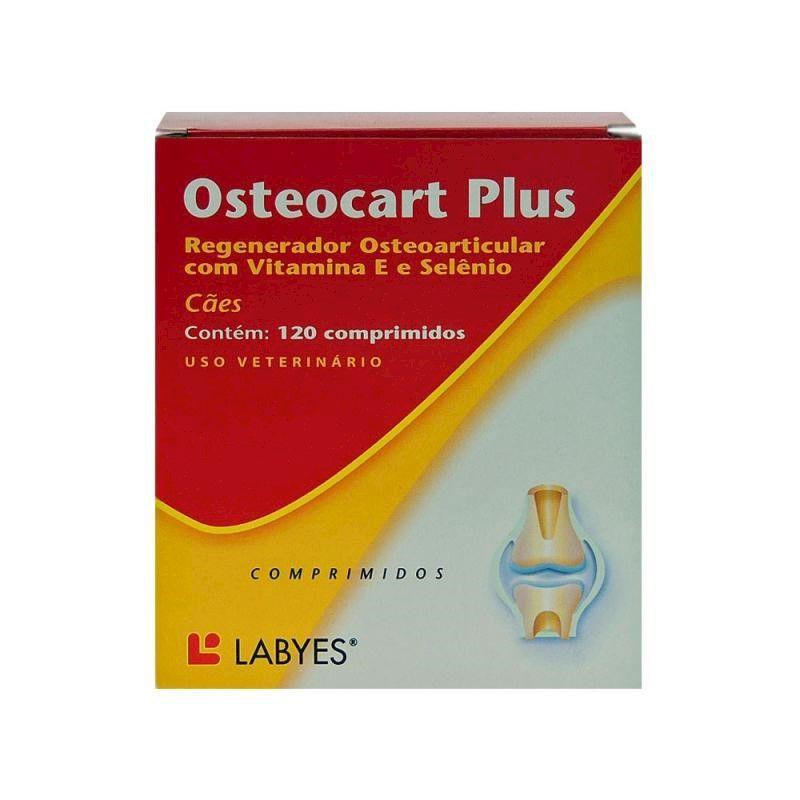 Regenerador Articular com Vitaminas Osteocart Plus (120 comprimidos) - Labyes (Validade 08/2021)