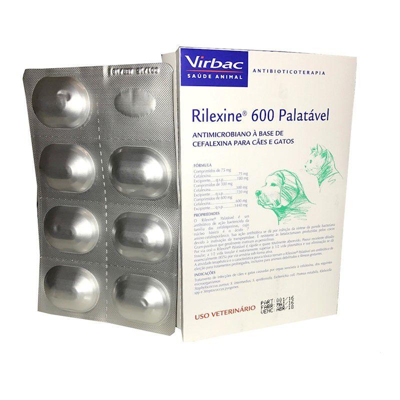 Rilexine Palatavel 600 (2 Cartelas com 7 Comprimidos) - Virbac