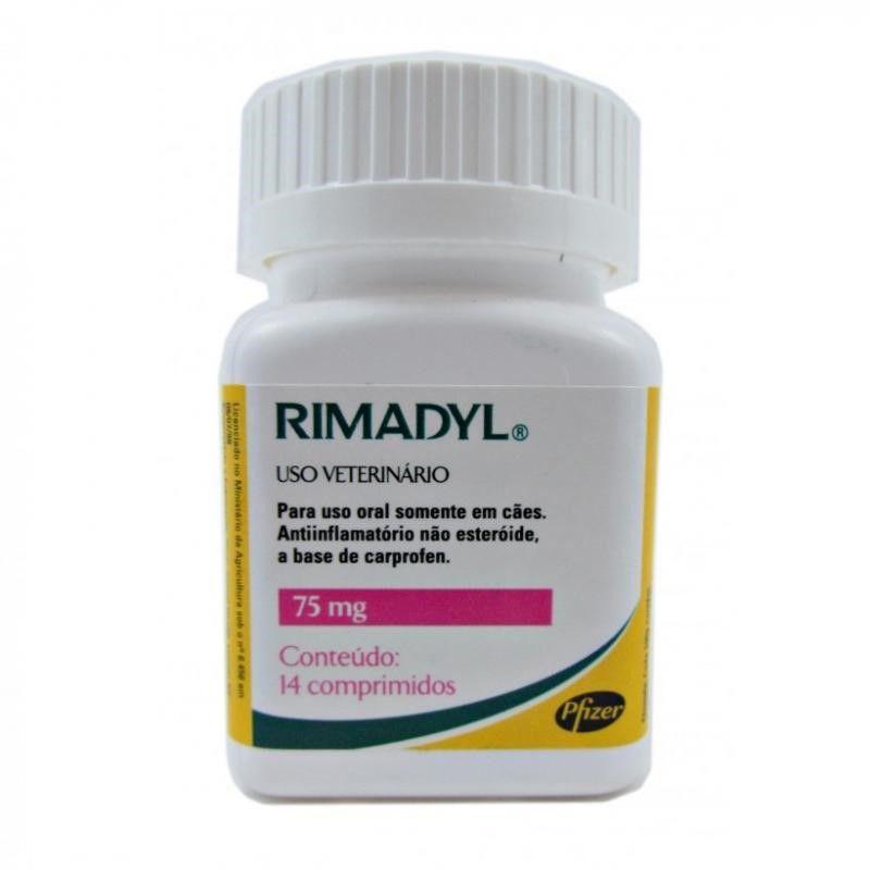 Rimadyl 75mg (14 Comprimidos) - Zoetis
