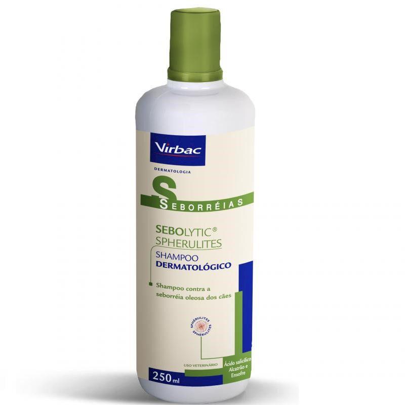Shampoo Dermatologico Sebolytic Spherulites 250ml - Virbac
