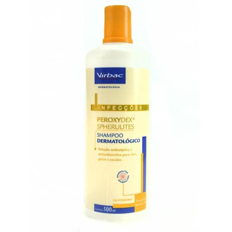 Shampoo Hexadene Spherulites 500ml - Virbac