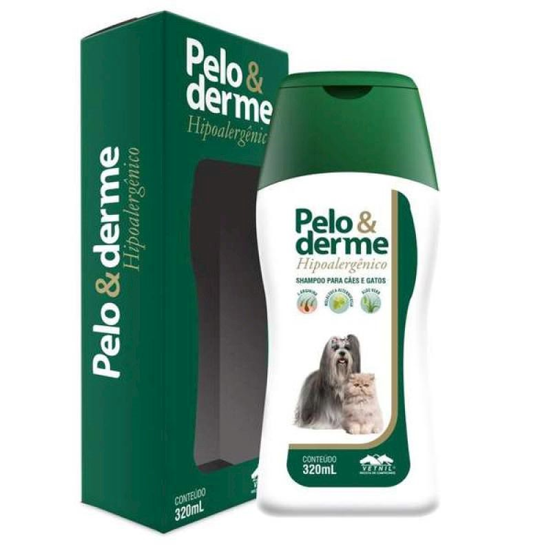 Shampoo Hipoalergênico Pelo & Derme 320ml - Vetnil