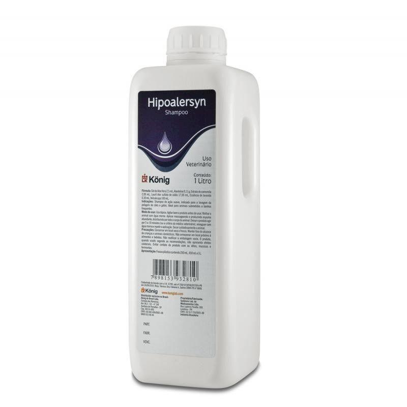 Shampoo Hipoalersyn 1L - Konig