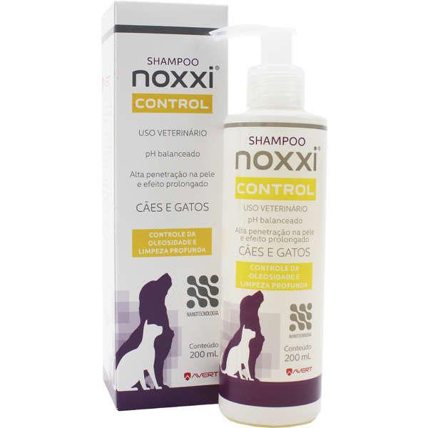 Shampoo para Cães e Gatos Noxxi Control 200ml - Avert Validade Setembro2020