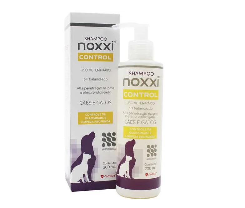 Shampoo para Cães e Gatos Noxxi Control 200ml - Avert (Validade Setembro/2021)