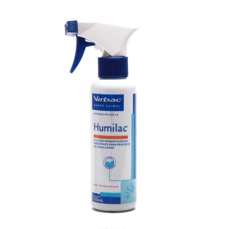 Solucao Dermatologica Humilac 250ml - Virbac