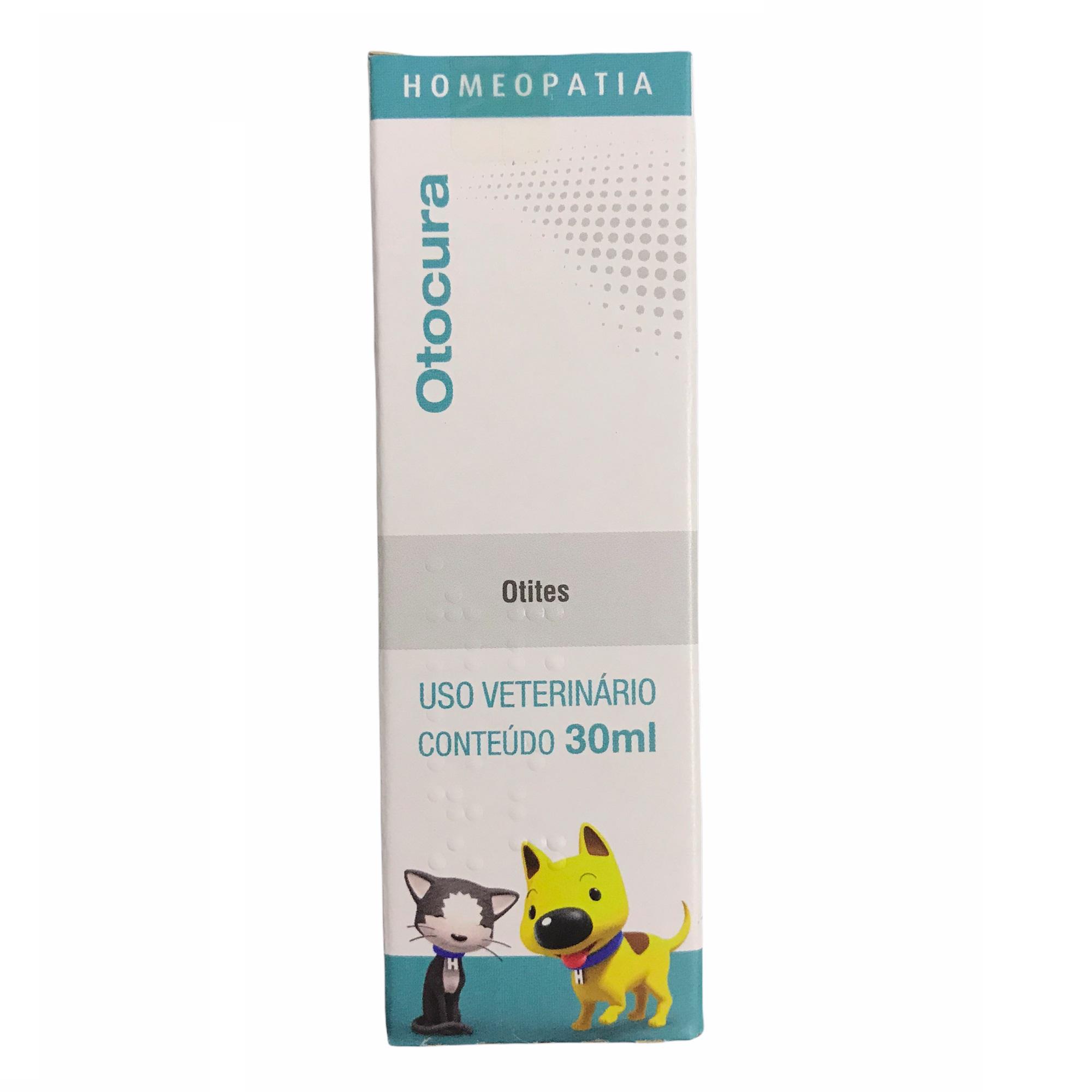 Solução Homeopática Otocura 30ml - Real H