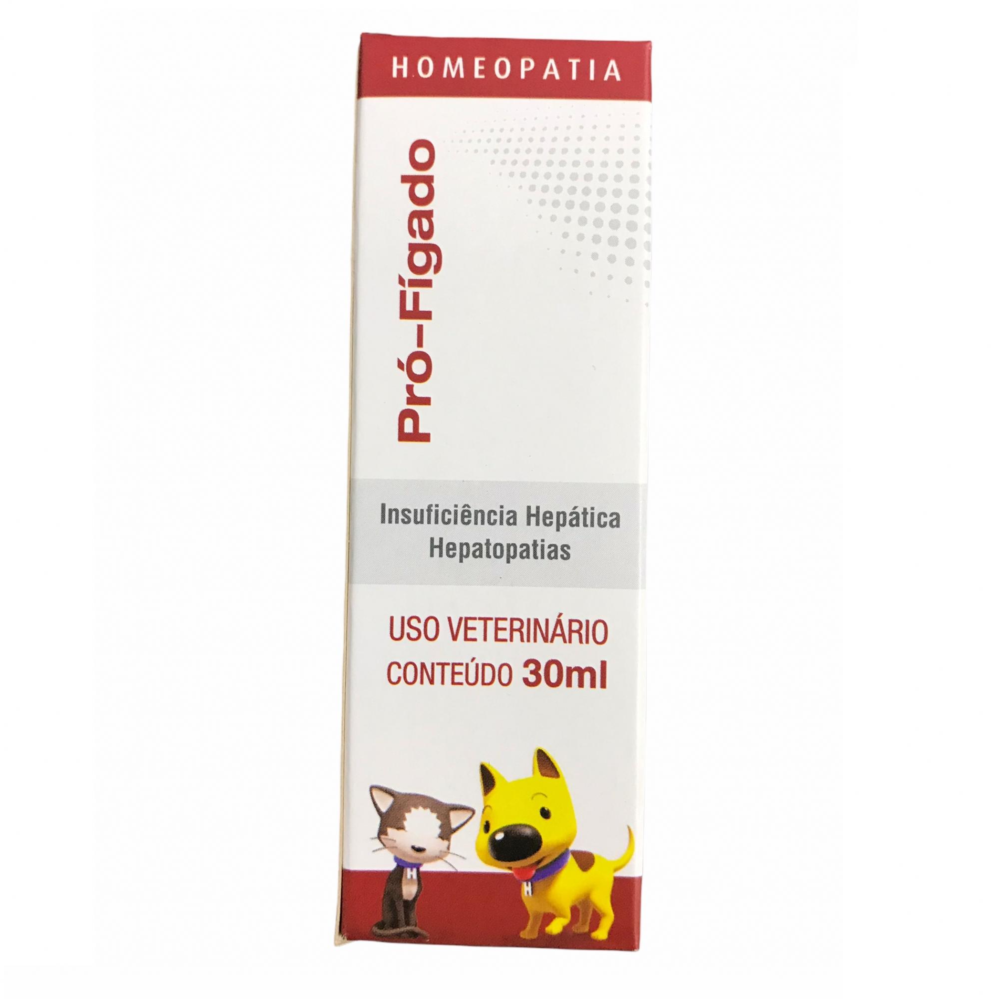 Solução Homeopática Pró-Fígado 30ml - Real H