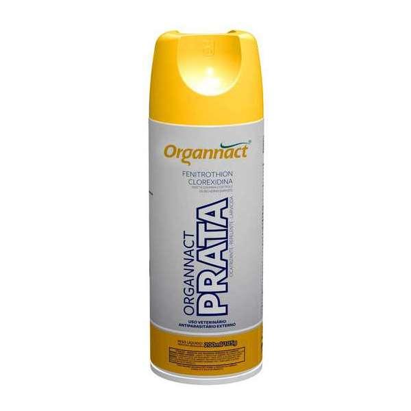 Spray Antiparasitário Externo Prata 200ml/105g - Organnact