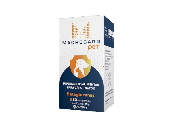 Suplemento Alimentar Macrogard Pet para Cães e Gatos (30 comprimidos) - Avert