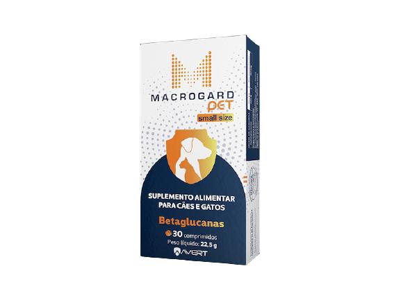 Suplemento Alimentar Macrogard Pet Small Size para Cães e Gatos (30 comprimidos) - Avert