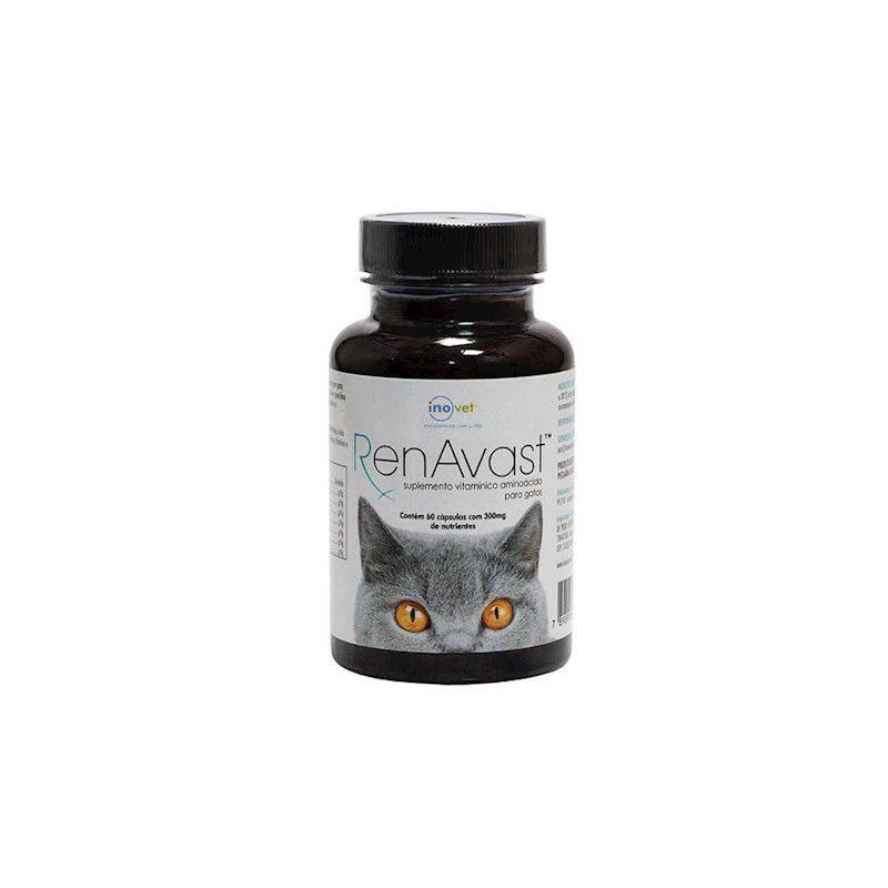 Renavast Cats 300mg (60 comprimidos) - Inovet