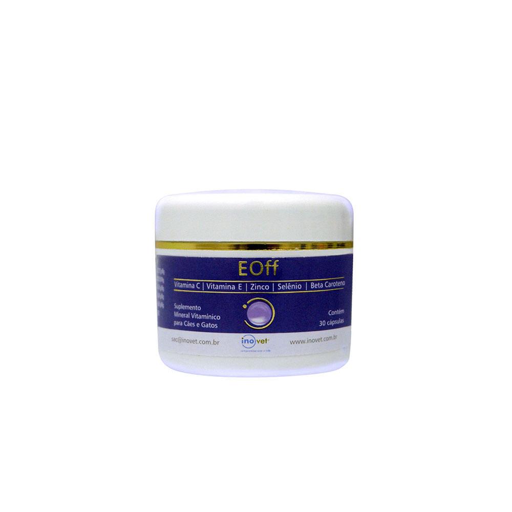 Suplemento Inovet Antioxidante Eoff (30 Cápsulas) - Inovet