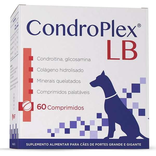 Suplemento para Cães de Porte Grande e Gigante Condroplex LB (60 comprimidos) - Avert