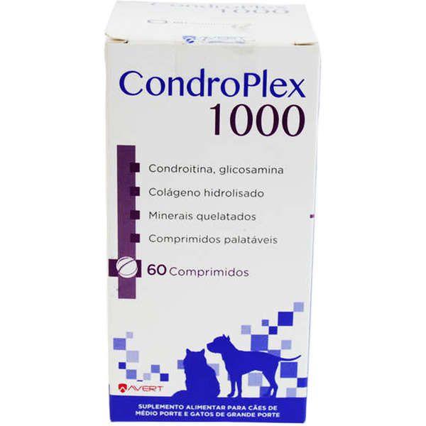Suplemento para Cães e Gatos Condroplex 1000 - Avert