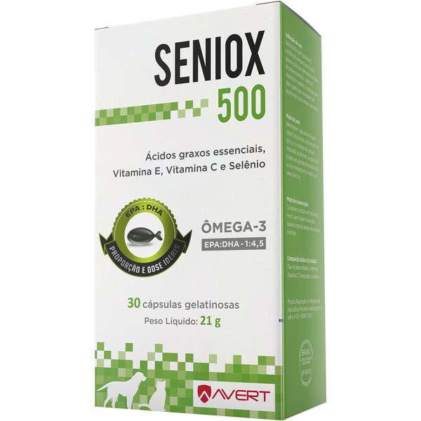 Suplemento para Cães e Gatos Seniox 500 - Avert