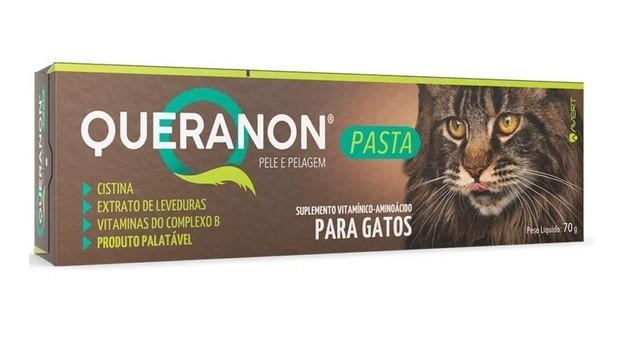 Suplemento Vitamínico para Gatos Queranon Pasta 70g - Avert
