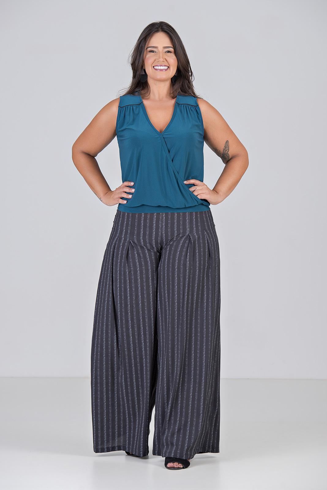 Blusa Cashecouer De Malha - Plus Size