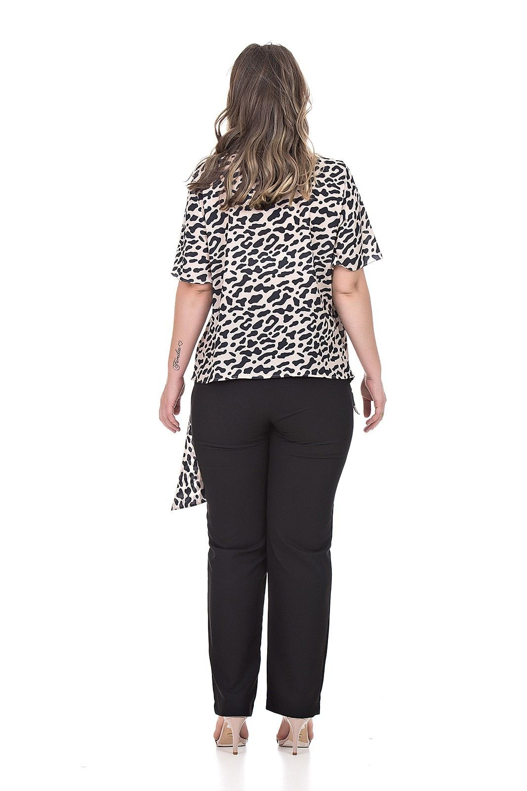 Blusa Cashecower plus size