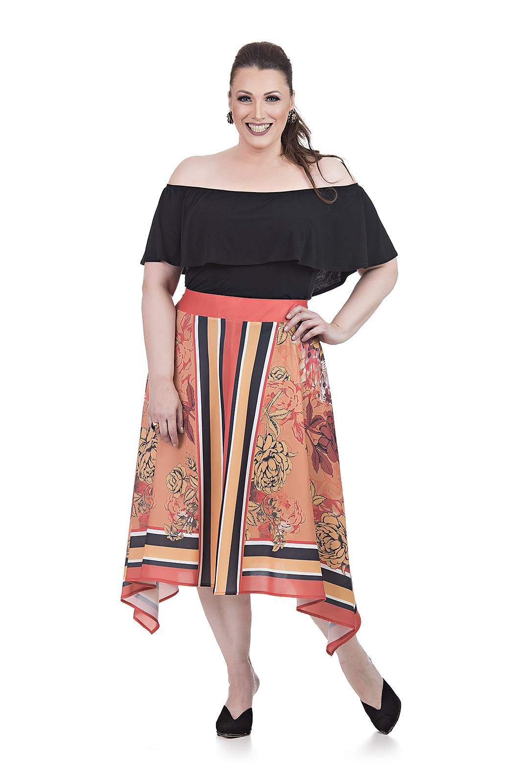 Blusa Cigana Plus Size