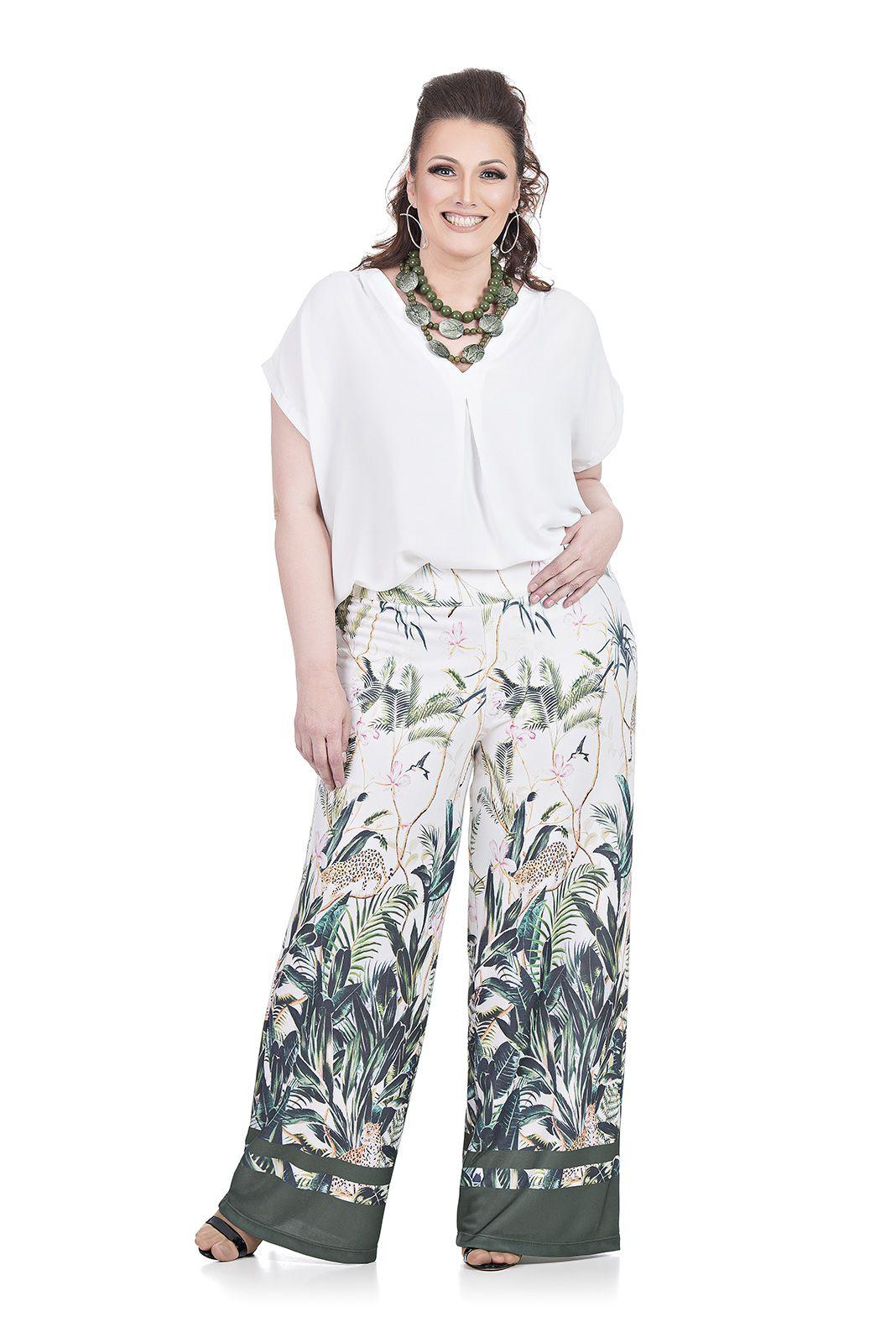 Blusa de Malha Plus Size