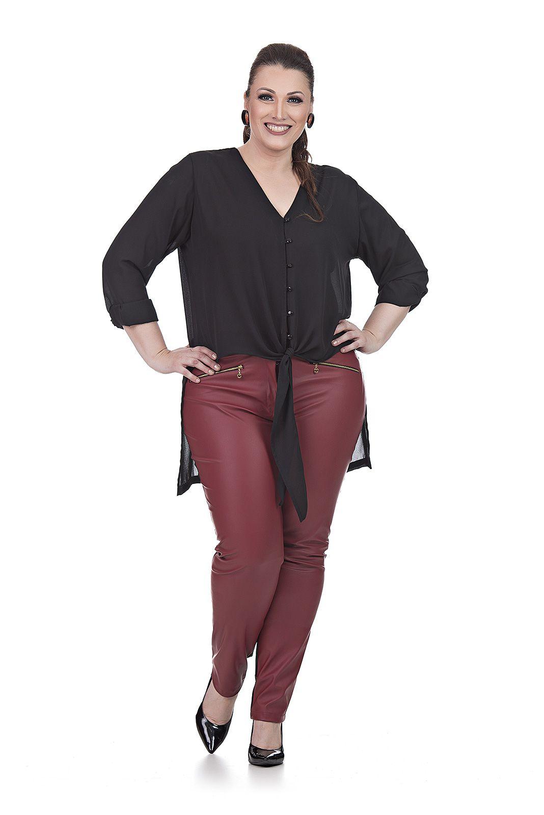 Blusa Mullet Plus Size
