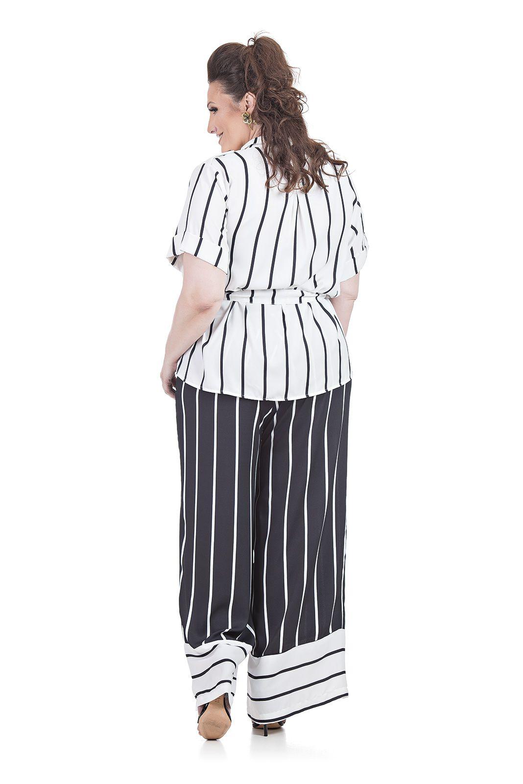 Blusa Parka Plus Size
