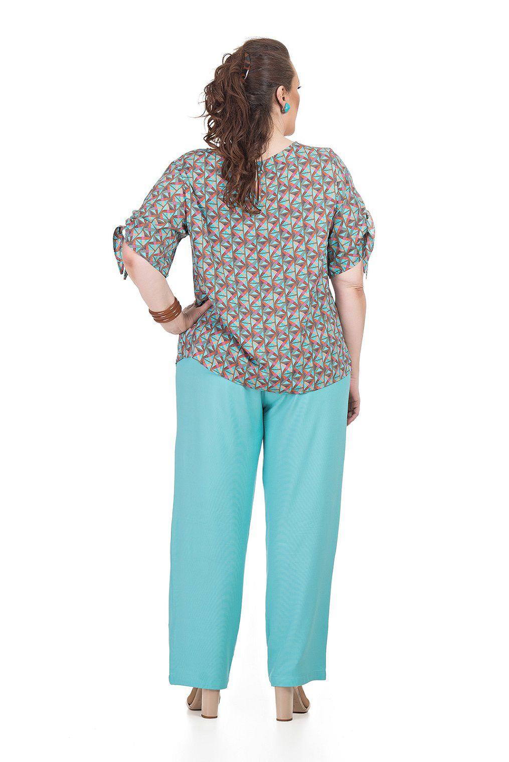Blusa Reta Plus Size