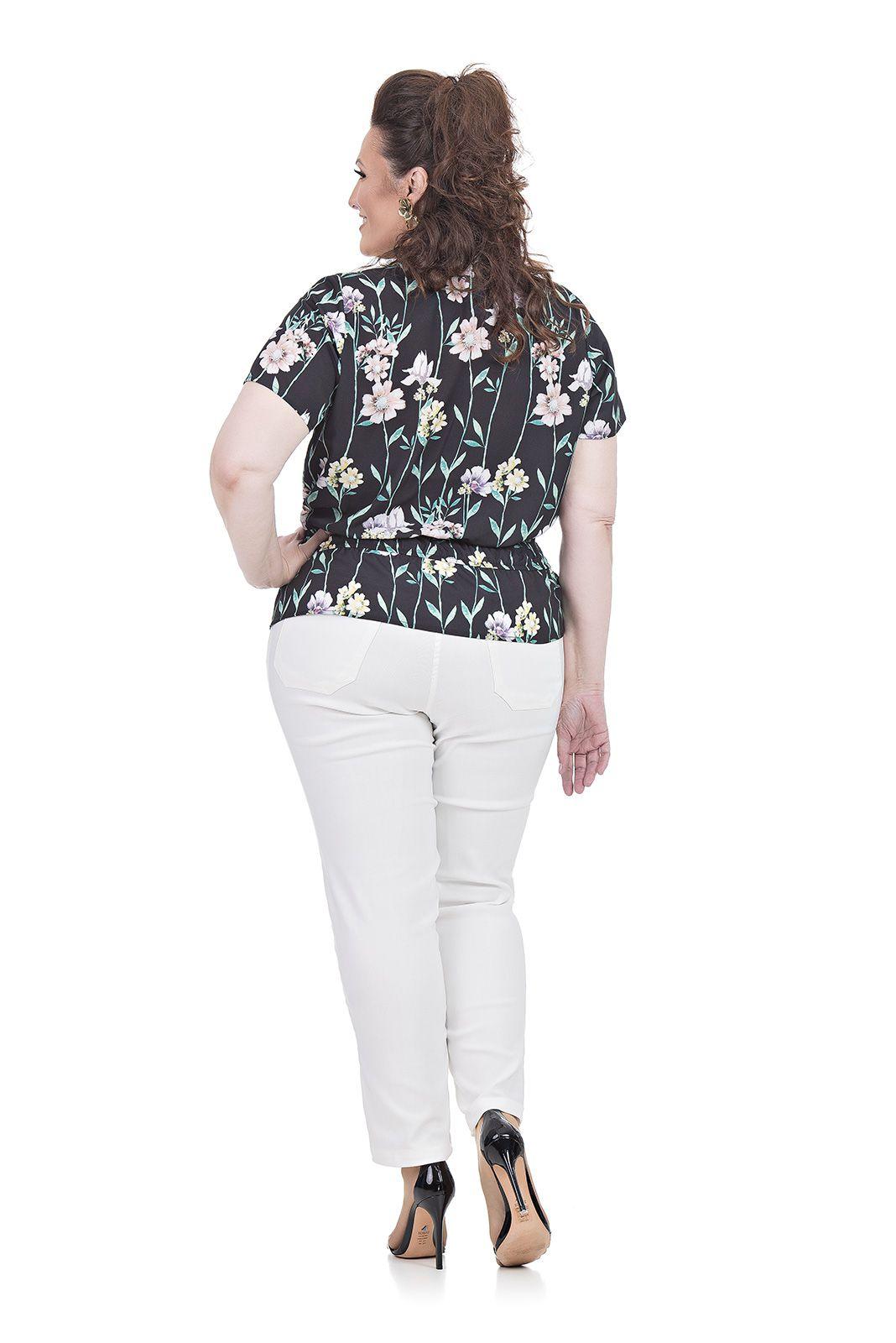 Calça Skinny Plus Size
