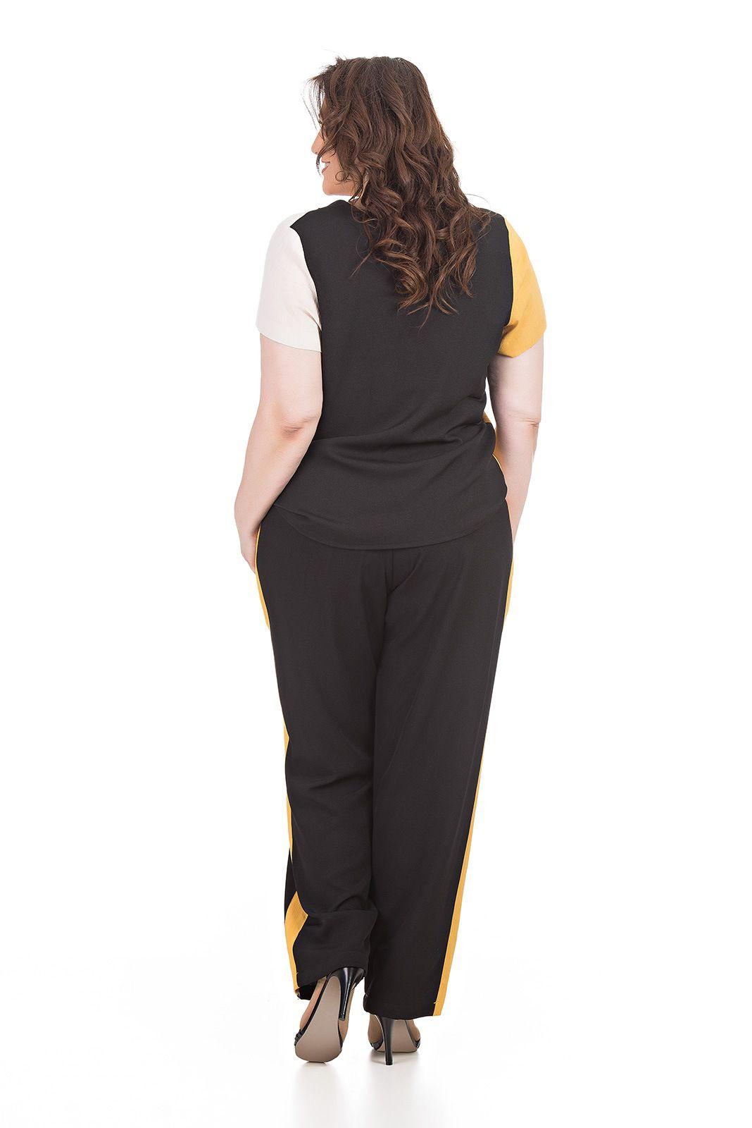 Conjunto Calça e Blusa Plus Size