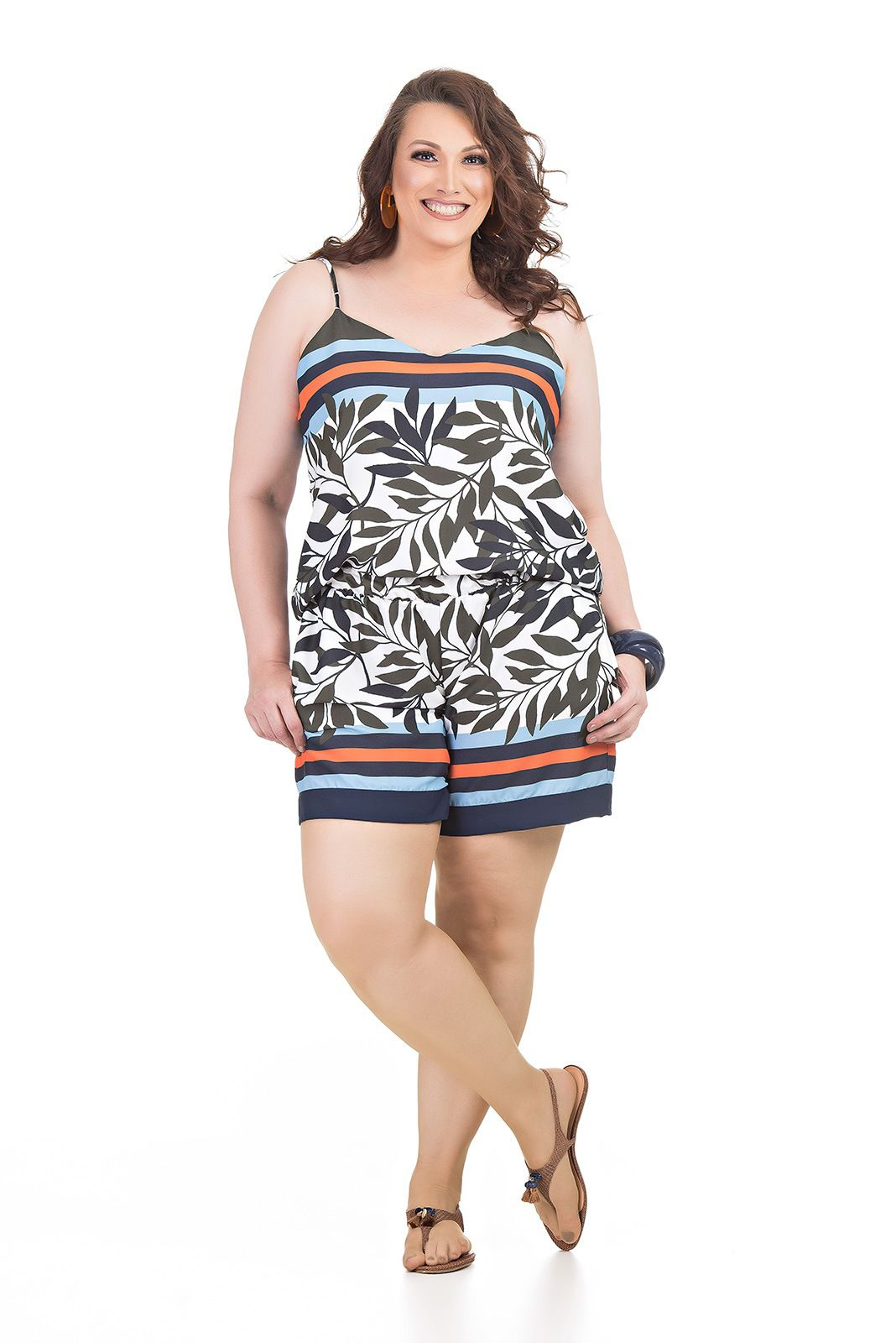 Conjunto Short e Regata Plus Size