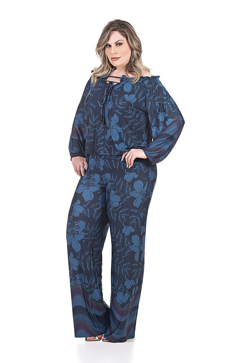 MACACAO OMBRO A OMBRO - Plus Size