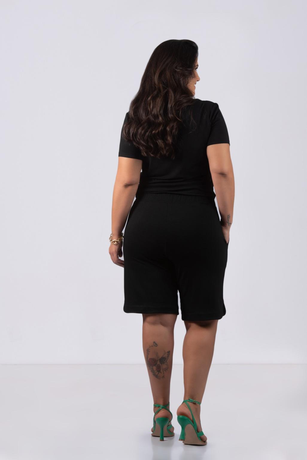 MACAQUINHO BERMUDA- Plus Size