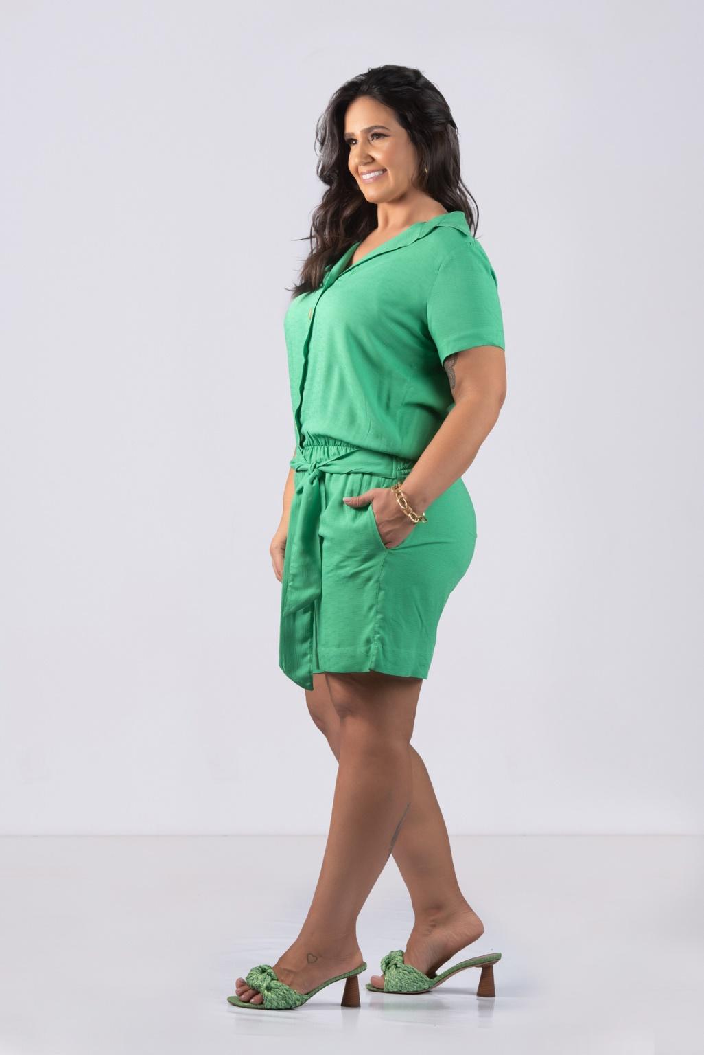 MACAQUINHO COM FAIXA- Plus Size