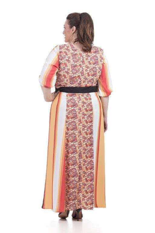 Vestido Longo Plus Size