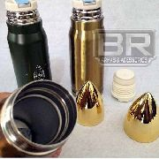 Garrafa Térmica 500 Ml Aço Inoxidável Dourada