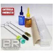 Kit Completo Limpeza Armas Curtas .38spl 380acp, 9mm, 357mag