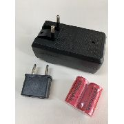 Kit Bateria Recarregável 3000 Mah Ls 16340 E Carregador