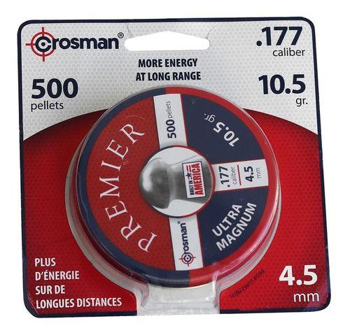 Chumbo Pellets Crossman .177 / 4,5 10.5 Gr Max Piranha 500un